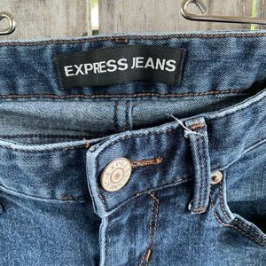 Express Jeans - EXPRESS barely boot low rise Sz 2 S